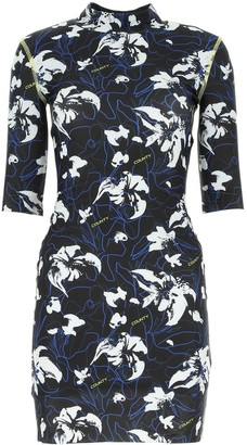 Marcelo Burlon County of Milan Floral Print Dress