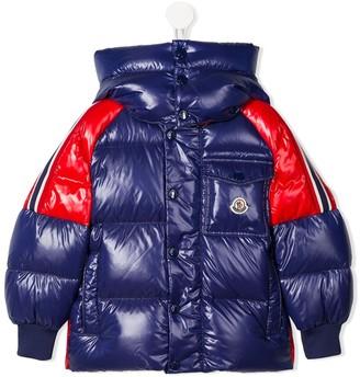 Moncler Enfant Sigean hooded puffer jacket