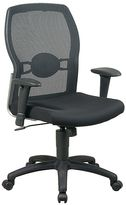 Office Star Products Adjustable Lumbar Screen Back Chair