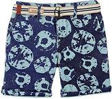 Scotch Shrunk Sand-Dollar-Print Cotton Shorts