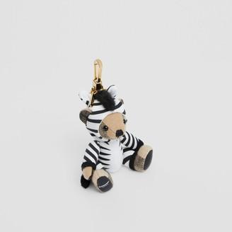 Burberry Thomas Bear Charm in Zebra Costume