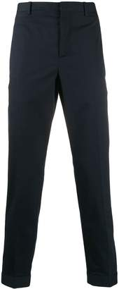 Neil Barrett zip-cuffs tailored trousers