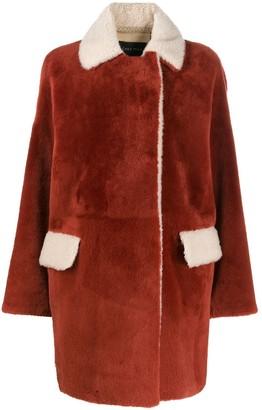 Cara Mila Alba shearling coat
