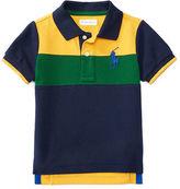 Ralph Lauren Color-Blocked Cotton Polo