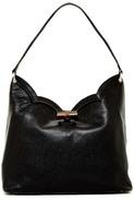 Eric Javits Tia Leather Shoulder Bag