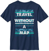 Fifth Sun Navy 'Travel Without a Map' Crewneck Tee - Boys