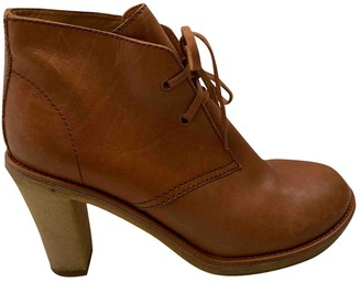 Veronique Branquinho Brown Leather Ankle boots