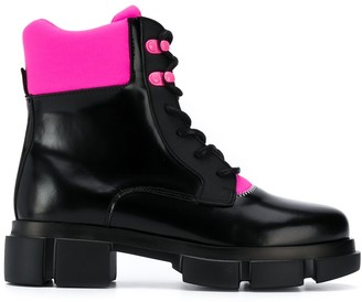 Joshua Sanders Velar lace-up boots