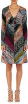 Missoni Women's Zigzag Knit V-Neck Dress-BLACK