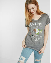 Express one eleven fearless splice graphic tee