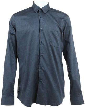 Fendi Blue Cotton Shirts
