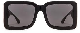 Burberry Frith Sunglasses in Black   FWRD