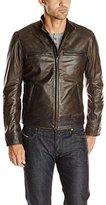Lucky Brand Men's Bonneville Leather Jacket
