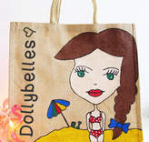 Hurley Sarah Personalised Hand Painted Dollybelles Beach Bag