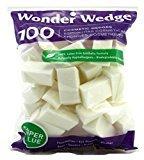Wonder Wedge 100 Count Cosmetic Wedge (2 Pack)