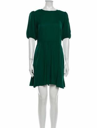 Reformation Dulce Dress Mini Dress w/ Tags Green