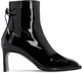 Reike Nen 80mm Patent Leather Ankle Boots
