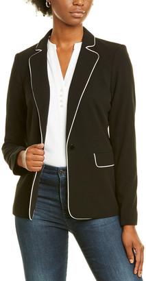 Karl Lagerfeld Paris Piped Jacket