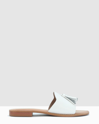 Los Cabos - Women's White Flat Sandals - Ami - Size One Size, 39 at The Iconic