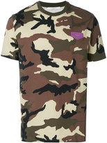 Givenchy Cuban-fit camouflage print T-shirt - men - Cotton/Leather - S