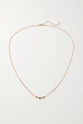 Brooke Gregson 14-karat Gold Diamond Necklace