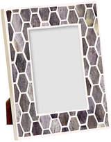 """Mela Artisans Gramercy Frame - Gray/White 4"""" x 6"""""""