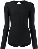 Ann Demeulemeester long-sleeve fitted bodysuit