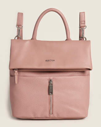 Kenneth Cole Reaction Mauve Free Fall Vegan Backpack