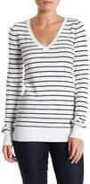 Abound V-Neck Stripe Sweater