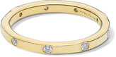 Ippolita Stardust 18k All-Around Diamond Ring, Size 7