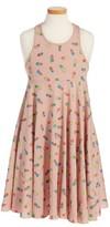 Stella McCartney Girl's Zig Pineapple Print Tank Dress