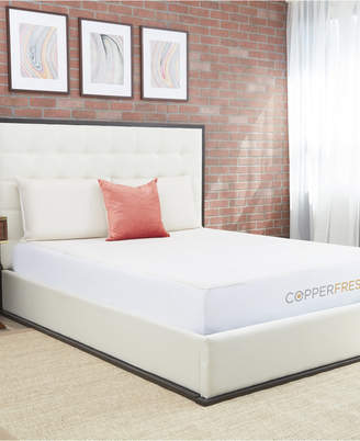 """CopperFresh 2"""" Gel Memory Foam Twin Xl Mattress Topper with Cover"""