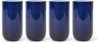 Jonathan Adler Navy Pop Highball Glass Bundle