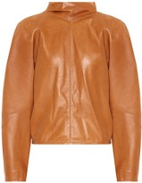 Isabel Marant Caby leather blouse