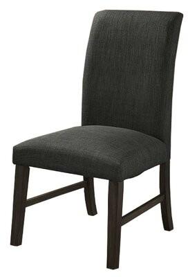 Red Barrel Studioâ® Davisboro Linen Upholstered Parsons Chair in Dark Gray Red Barrel StudioA