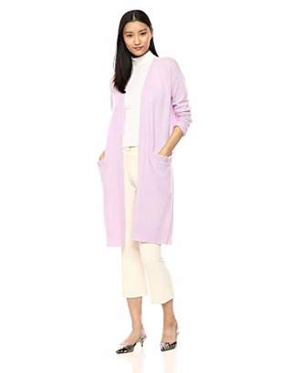 Theory Women's Blouson Sleeve Lightweight Cardigan