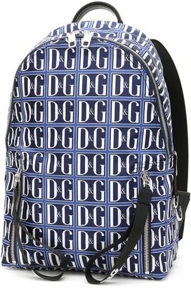 Dolce & Gabbana Logo Nylon Backpack