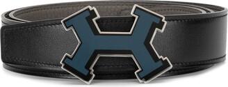 Hermes 2017 pre-owned Constance reversible belt