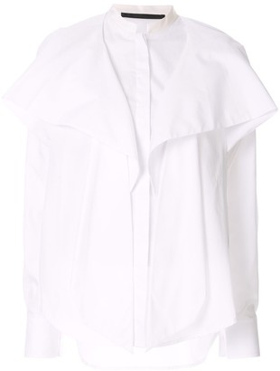 Haider Ackermann Draped Front Shirt