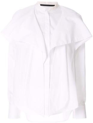 Haider Ackermann draped front shirt