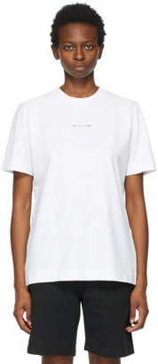 Alyx White Collection Name T-Shirt