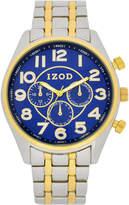 Izod Mens Two Tone Bracelet Watch-Izo5075jc
