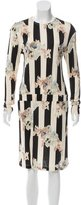Suno Long Sleeve Floral Print Dress w/ Tags
