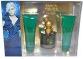 Jessica Simpson Fancy Nights Women Gift Set (3.4 Ounce Eau De Parfum Spray, 3 Ounce Body Lotion, 3 Ounce Bath and Shower Gel)