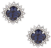 Carolee Clipped to Perfection Cushion-Cut Clip-On Earrings