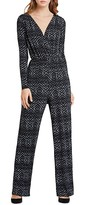 BCBGeneration Diamond Print Jumpsuit
