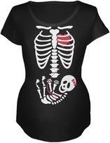 Old Glory Halloween Baby Girl Skeleton Women's Maternity Costume T-Shirt