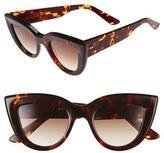 Ellery 'Quixote Classic' 45mm Cat Eye Sunglasses