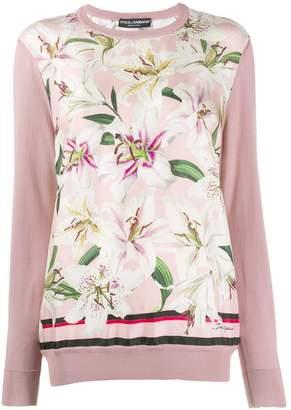 Dolce & Gabbana Printed Gigli Sweater