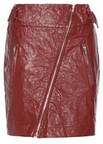 Isabel Marant Breezy Faux Leather Miniskirt